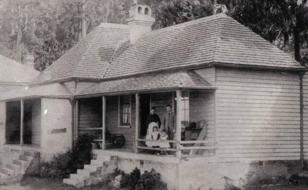 school residence Clifton 1891.