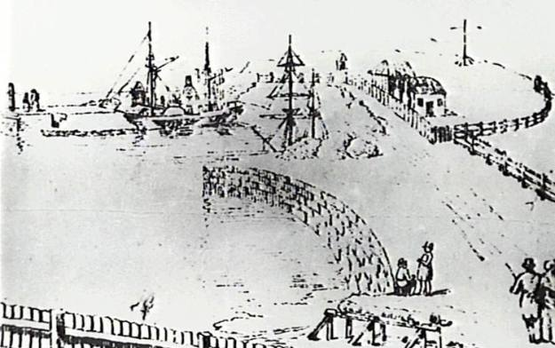 Wollongong Harbour 1850