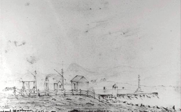 Wollongong Harbour 1853