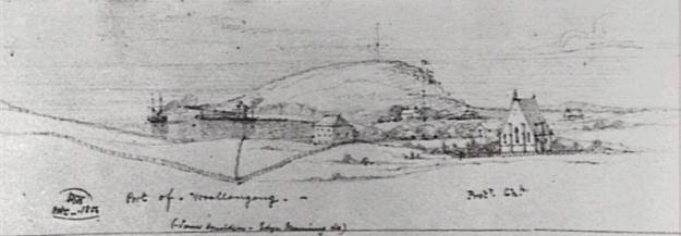 Wollongong Harbour 1854