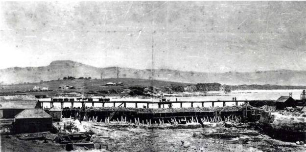 Wollongong Harbour 1859 a
