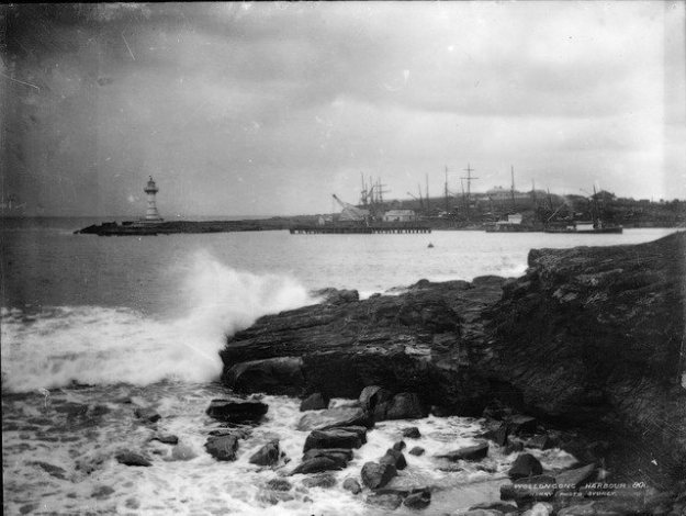 Wollongong Harbour 1859