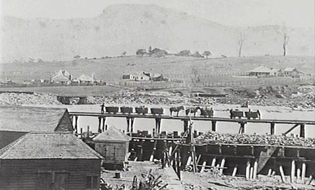 Wollongong Harbour 1860 b