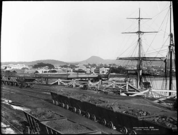 Wollongong Harbour 1860