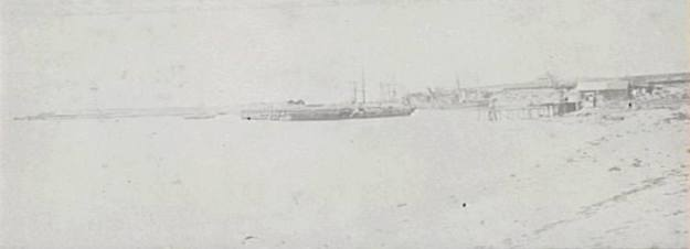 Wollongong Harbour 1870