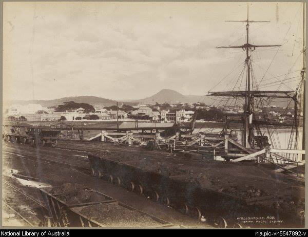 Wollongong Harbour 1870's