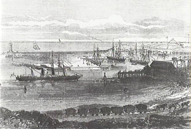 Wollongong Harbour 1873