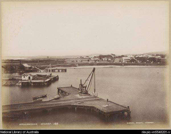 Wollongong Harbour 1880's b