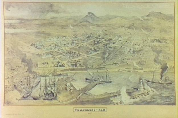 Wollongong Harbour 1880's g