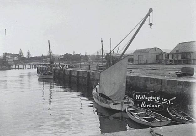 Wollongong Harbour 1900's 2