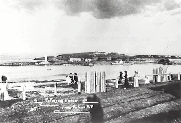Wollongong Harbour 1900's