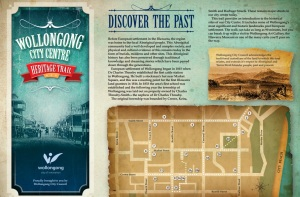 Wollongong City Centre Heritage Trail brochure